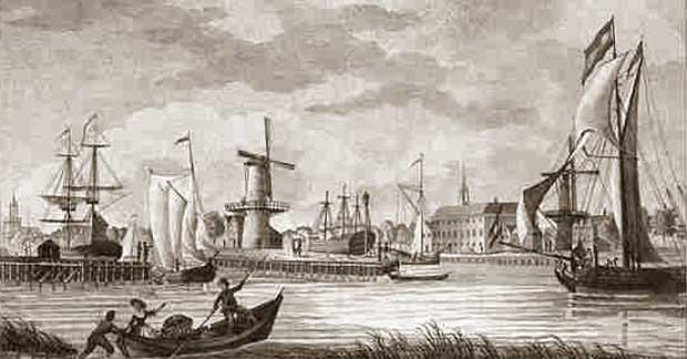 Historisch delfshaven de geschiedenis leeft for Gulden interieur rotterdam